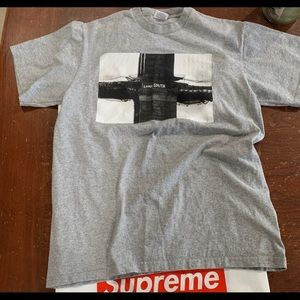 Supreme bridge tee heather Gray